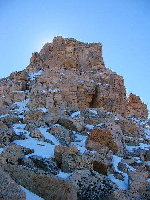 The summit pinnacle - 10/09/04