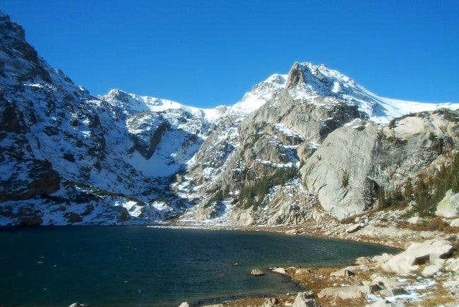 Ouzel Peak's East Ridge