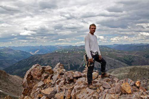 On top of Vestal Peak