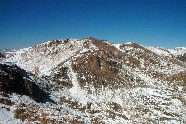 Isolation Peak from Ouzel Peak