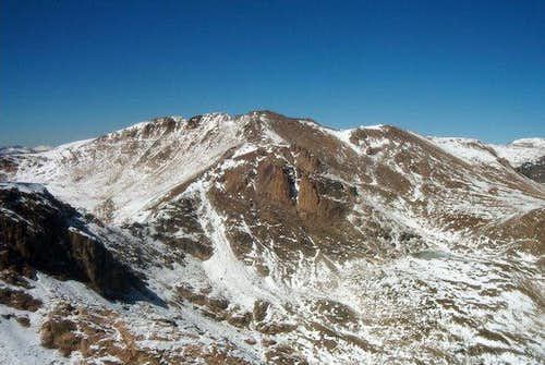 Isolation Peak from Ouzel Peak