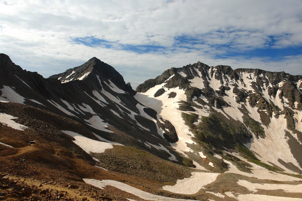 Mount Wilson and Gladstone Peak