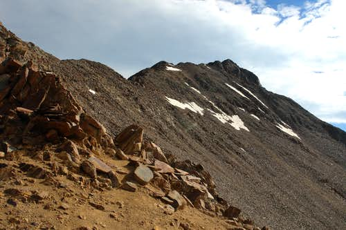 Southwest Ridge of Wilson Peak