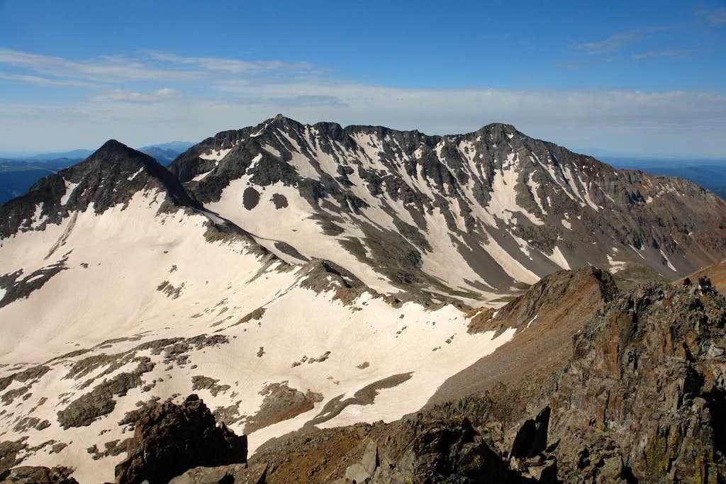 Wilson Peak, summit view southwest