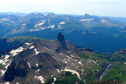 Lizard Head from Wilson Peak