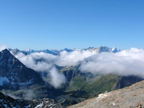 View from the Col du Mont Rouge