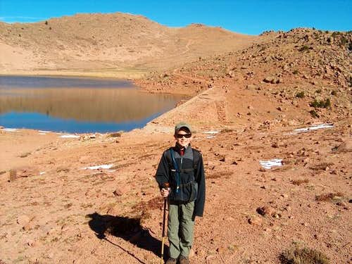 JP at the Stratton Resevoir...