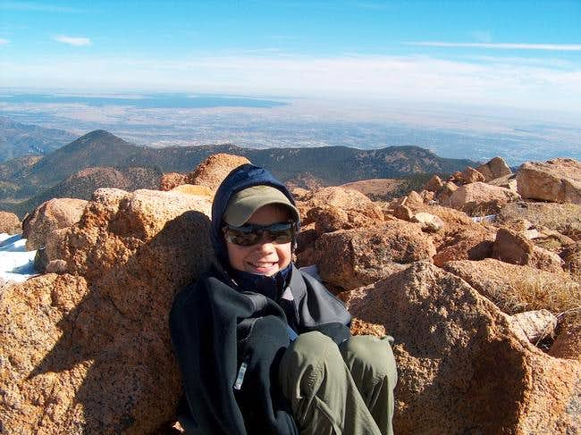 JP on the summit of Almagre,...