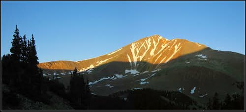 Sunrise on Antero