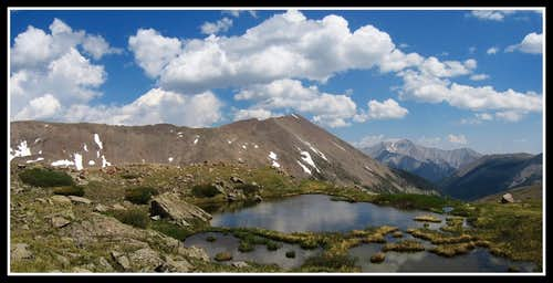 Looking down valley