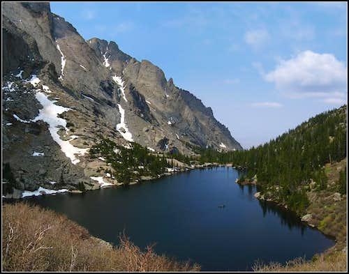 Canoeing Willow Lake