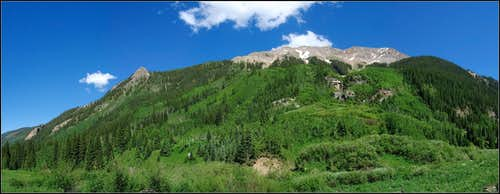 Corundrum Creek trail
