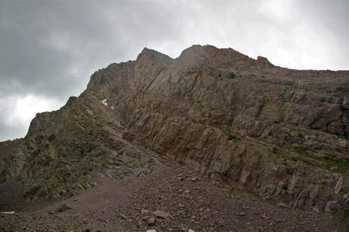 Northeast Face on Arrow Peak
