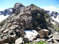 Elk Tooth Summit Ridge
