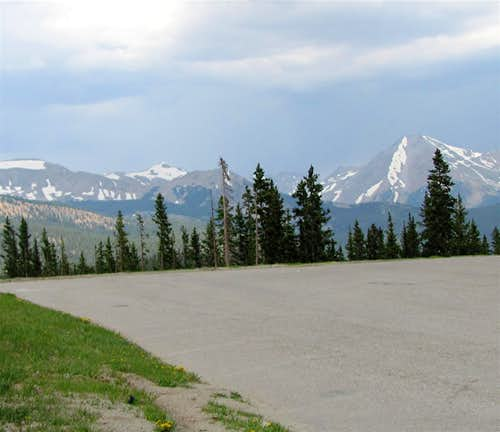 From Monarch Pass