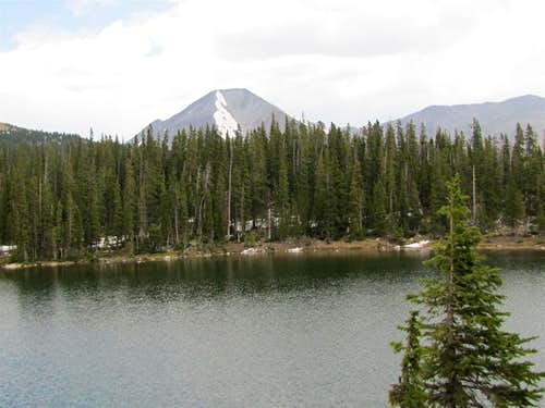 Hunt Lake & Mt. Aetna