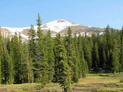From Continental Divide Trail