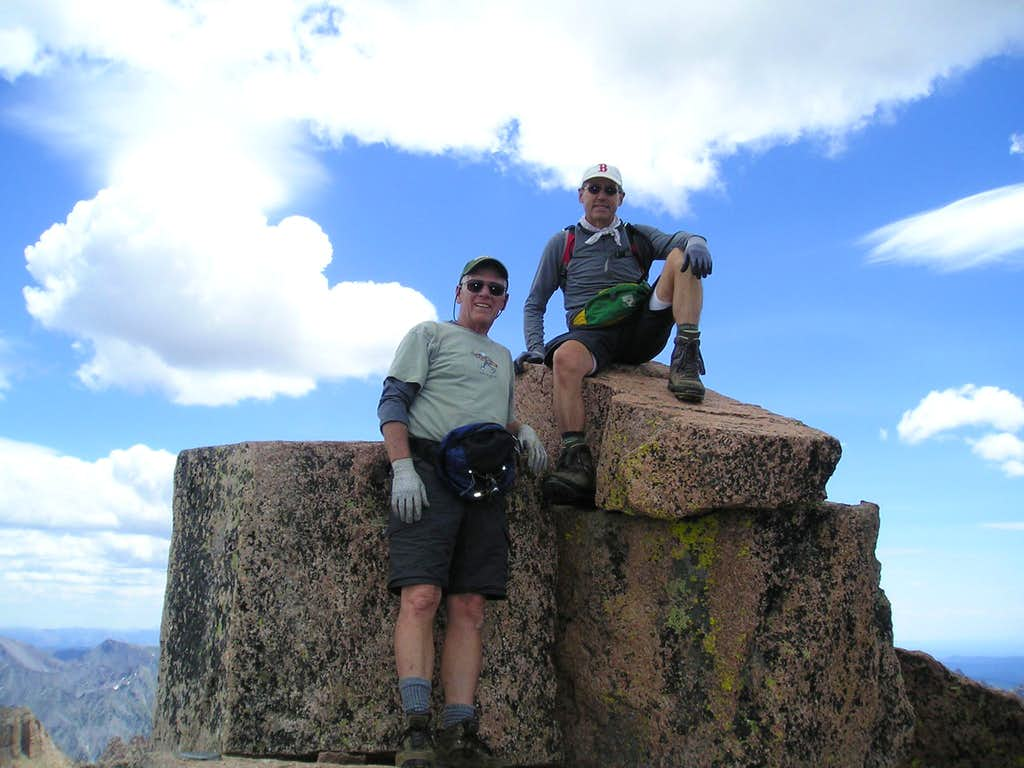 Windom Peak Summit Shot