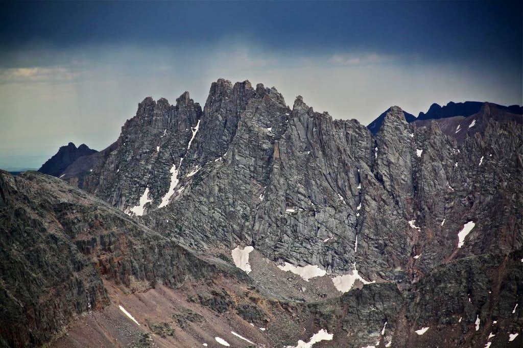 Jagged Mountain 13,824 feet