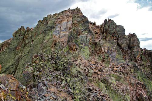 True Summit of Vestal Peak