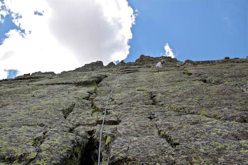 Center Shift on Wham ridge
