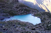 Chiaretto lake, on the path...