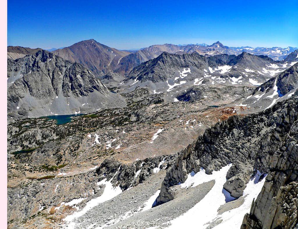 Mt. Tom and Mt. Humphreys (back right)