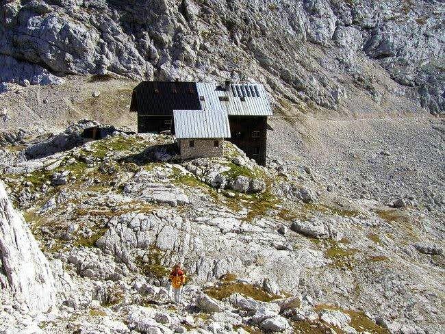 Koca na Dolicu (hut) from...