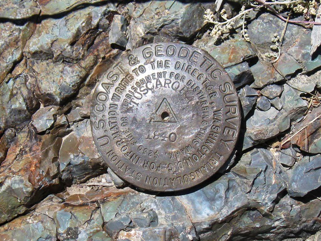 Marys Mountain BM (NV)