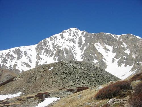 Torreys from about 1 mile in...