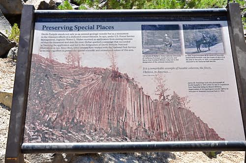 History of the preservation of Devil\'s Postpile