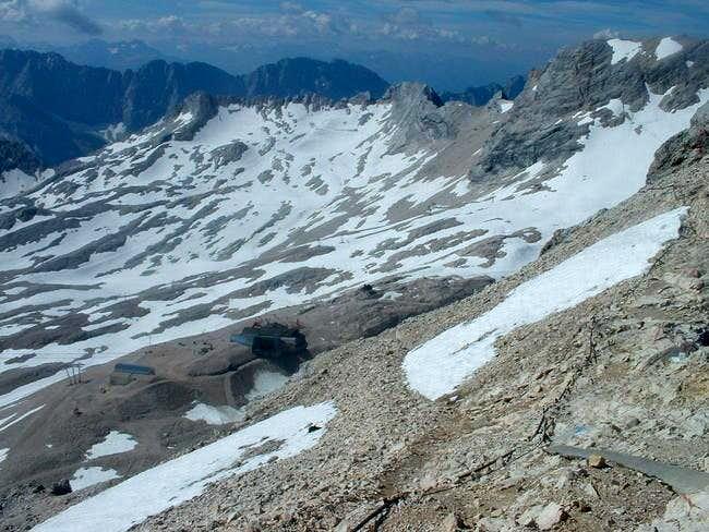 zugspitz gletscher
