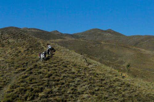در مسیر قله نغندر7-5-90