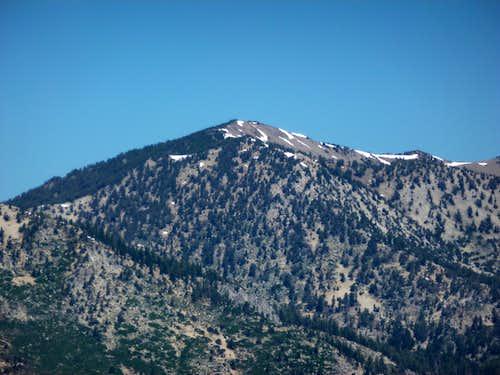 Relay Peak 10,335' from Peak 8703
