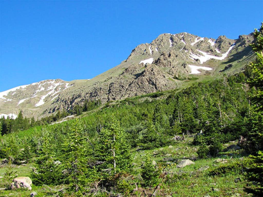 Peak 12956 ft