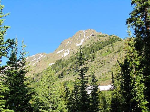 Peak 12956 ft (Hartenstein Lake)