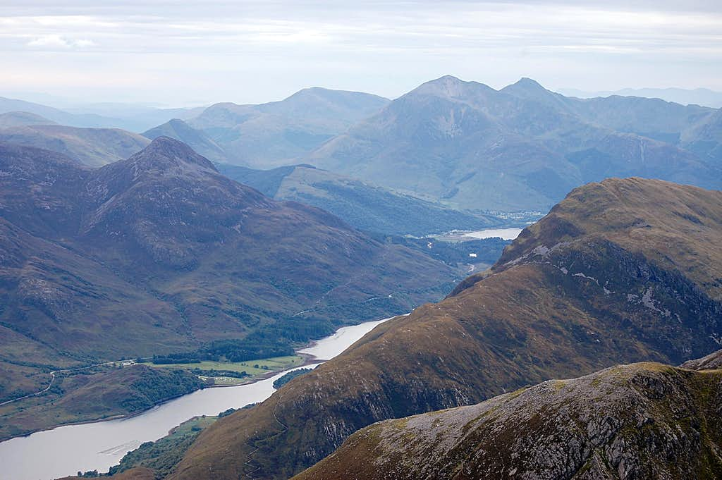 Mamore range - looking across to Loch Leven