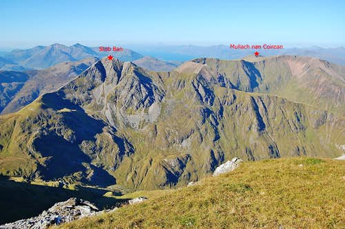 Mamore range - most western summits