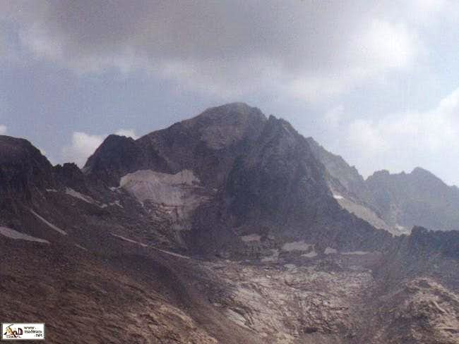View of mount Aneto form the...
