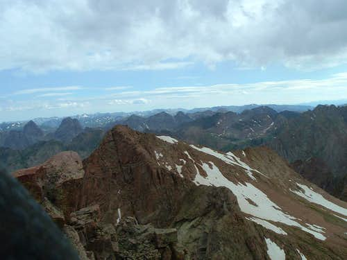 North Eolus Peak- My Colorado 14er Finale & 4th of the Chicago Basin 4