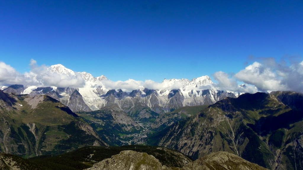 Mont Blanc group seen from...