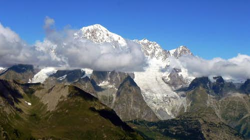 Mont Blanc seen from...