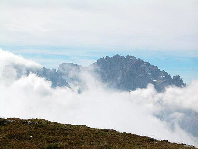 Monte Popera (3045m) and...