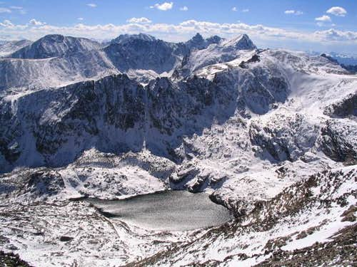 The Blue Lake Cirque from...