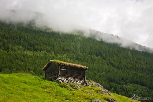 Lonesome hut