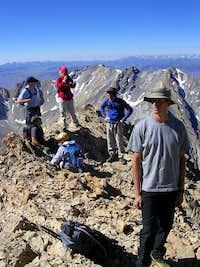 Wandering on Summit