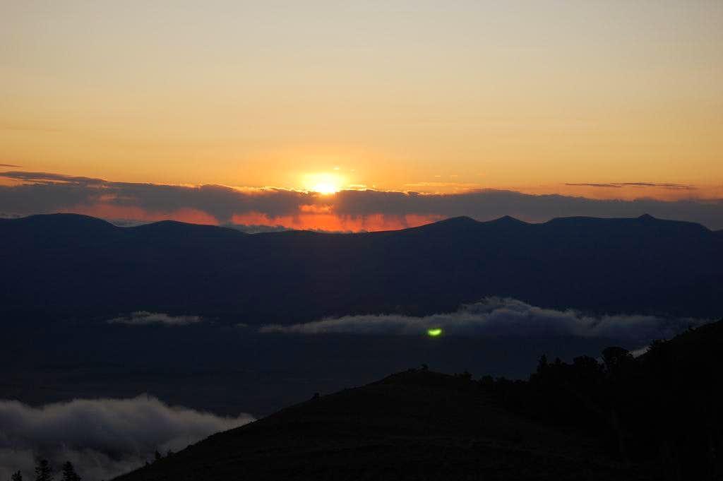 Sunrise, Diamond Peak