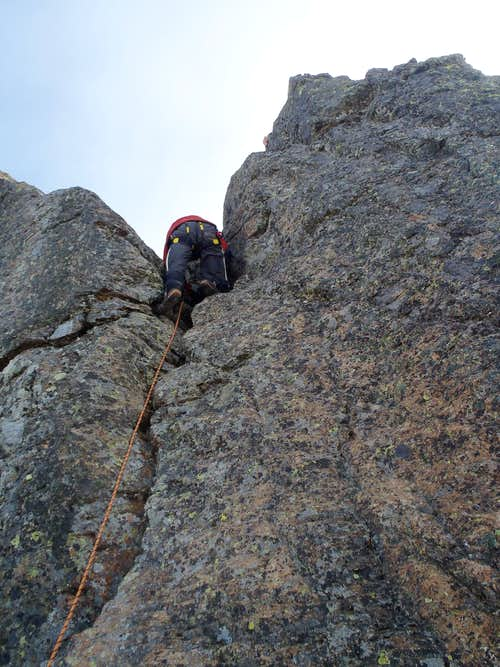 Big Horn Crux Move