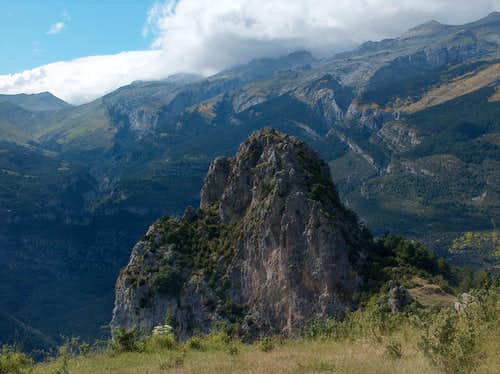 Punton de las Brujas (Piton of the Witches) and its ermitage
