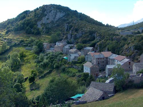 Village of Tella from above